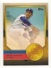 2012 Topps Baseball - Golden Greats - #48 - Sandy Koufax - Los Angeles Dodgers