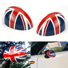 Manual Fold Wing Mirror Caps Cover Casing Union Jack For MINI COOPER R56 R58 R60