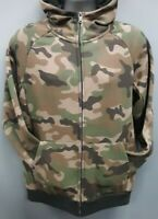 Men's Rebel Minds Front Zip Hoodie - Camo