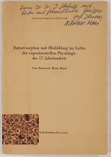 Mani, Niko. Darmresorption und Blutbildung der experimentellen Physiologie 17Jh.