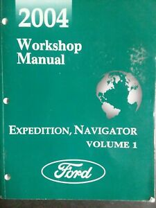 Repair Manuals Literature For 2004 Ford Expedition For Sale Ebay