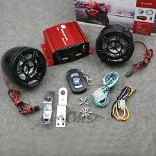 New Motorcycle Audio Remote Sound System Support SD USB MP3 FM Radio Speaker