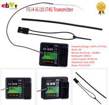Flysky 2.4G FS-iA4B 4CH AFHDS 2A Receiver PPMS Data iBus Compatible FS-IT4S❤HGH