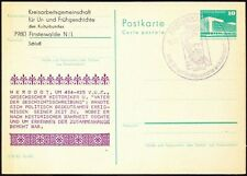 Germany Used Postcard Pictorial Cancellation, Herodotus, Father of History
