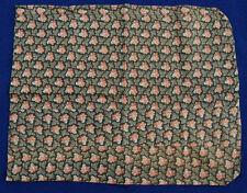 ELEGANT 1870's Vintage Antique Pillowcase Sham ~GORGEOUS EARLY BROWN FABRIC!
