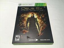 Deus Ex: Human Revolution (Microsoft Xbox 360) Original Complete Excellent!