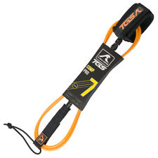 New listing Tgs Superior Surf Leash - 7 ft with Double Stainless Steel Swivels (Orange)