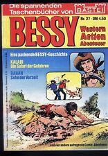 Bessy Nr.27 von 1975 mit Kalari, Rahan, Karim... - TOP BASTEI COMIC-Taschenbuch