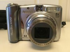 CANON PowerShot A720 IS 8 MP Digital Camera 6X Optical Zoom with Carrying Case