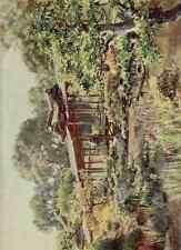 A4 Photo Tyndale Walter 1855 1943 Nanjenji Buddhist Temple Garden Kyoto Japanese