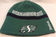 SASKATCHEWAN ROUGHRIDERS CFL Team Logo Reebok REVERSIBLE Toque TUQUE  Winter Hat