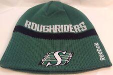 SASKATCHEWAN ROUGHRIDERS CFL Team Logo Reebok REVERSIBLE Toque TUQUE  Winter Hat
