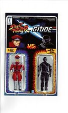 STREET FIGHTER G.I.JOE #1, IDW, ACTION FIGURE VARIANT COVER, (CC2) READ