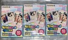 30 Sheets Fujifilm Fuji Instax Stained Glass Film For Mini 8 7 9 50s 7s 90 SP-1
