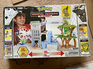 Nintendo Pokemon Unova Region Playset 2011 OPEN BOX UNUSED  D