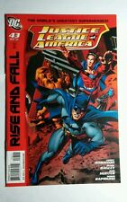 JUSTICE LEAGUE OF AMERICA #43 DC RISE AND FALL ROBINSON BAGLEY HUNTER COMIC BOOK