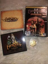 EverQuest Bundle W/ 8 Discs & Collectors Coin Included Trilogy, Flames & Luclin