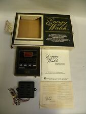 Unused Vintage Micro Comm Energy Watch Electronic Programmable Thermostat (A15)
