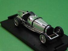 Bugatti Type 59 chrom 1933 Brumm 1:43 100 Jahre Automobil Limited Edition