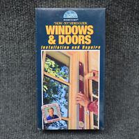 Windows & Doors Installation Repairs by Dean Johnson (VHS 1994) Hometime