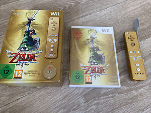 Pack Nintendo Wii THE LEGEND OF ZELDA SKYWARD SWORD limited Edition Collector