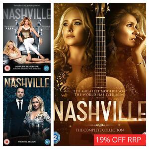 Nashville Season 1 2 3 4 5 6 DVD Box Set Complete Collection Series Sets