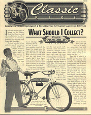 Classic Bike News SHOULD I COLLECT antique bicycle newsletter Volume 3 Number 5
