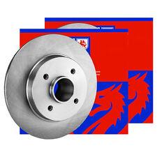 2x JP GROUP BREMSSCHEIBEN Ø268mm SET HINTEN TOYOTA AURIS 1.4 1.33 D-4D Dual-VVTi