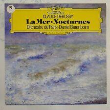 vinyl lp record DEBUSSY - BARENBOIM la mer , nocturnes