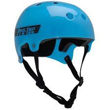 Protec Bucky Lasek Skateboard Skate Park Helmet TRANS BLUE L 57-58 cm