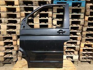 VW T5 Tür Links Multivan Schwarz Fahrerseite Fahrertür Original **JU16
