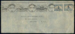 MayfairStamps South Africa 1940 Johannesburg to New York Cover wwi91919