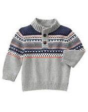 NWT  gymboree Fair Isle Sweater size xs