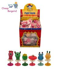 Monster Jump-Ups, Party Bag & Stocking Fillers, Lucky Dip Prizes (Pack of 12) UK