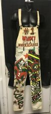 Custom Vintage One Of A Kind Guess Overalls Miami Hurricanes Rasta  Es Ws35