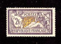 France stamp #126, MVVLHOG, possibly MNH, exquisite, SCV $625.00