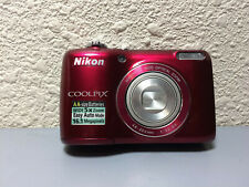 Nikon COOLPIX L26 16.1MP Digital Camera - Red - Awesome Working Condition!!!