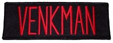 Ghostbusters Movie VENKMAN Uniform Name Tag Iron-on/Sew-on PATCH