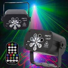 120 Muster Lichteffekt RGB LED Laser Projektor Disco Party Bühnenbeleuchtung DHL