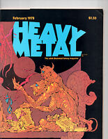 Heavy Metal Anthology Magazine Of SF & Fantasy Comic Strips & Stories Feb 1978