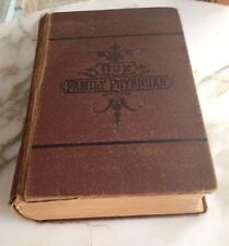 H.R. Stout, M. D. OUR FAMILY PHYSICIAN Treatment All Diseases 1886 ANTIQUE BOOK