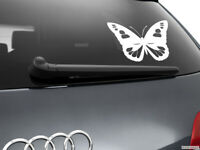 Butterfly Girl Car Styling Window Sticker Decal, White