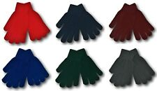 Traditional Woollen School Gloves - Many Colours - School Uniform
