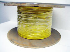 Yellow 22 AWG Hookup Wire UL1015  4000' RoHS