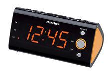 Karcher UR 1040-O Uhrenradio Wecker Radio Raumtemperaturanzeige Radiowecker