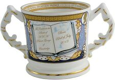 AYNSLEY ROYAL BABY 'PRINCE GEORGE OF CAMBRIDGE' LOVING CUP Ltd/Ed. 2013 (BIRTH).
