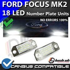 * X2-FORD FOCUS MK2 (03-08) 18 SMD LED Targa Di Ricambio Unità 6000K