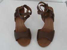 Marc O'Polo Gr. 40 Sandalette Echt Leder braun