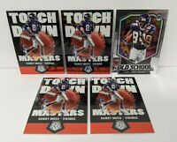 LOT (5) Randy Moss 2020 Mosaic TOUCHDOWN MASTERS SILVER Prizm Old School
