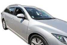 DMA23147 Mazda 6 Gh Estate 5 puertas 2007-2012 viento desviadores 4pc Heko Teñido